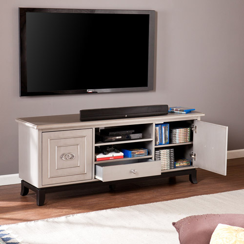 Antique Grey Jia TV/Media Stand for TVs up to 58""