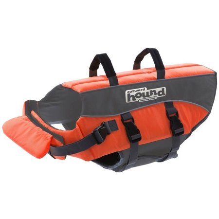 Outward Hound Pet Saver Life Jacket Orange, X-Small