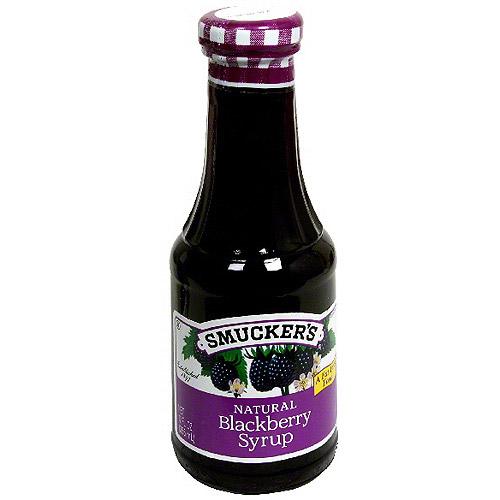 Smucker's Blackberry Syrup, 12 oz (Pack of 6)