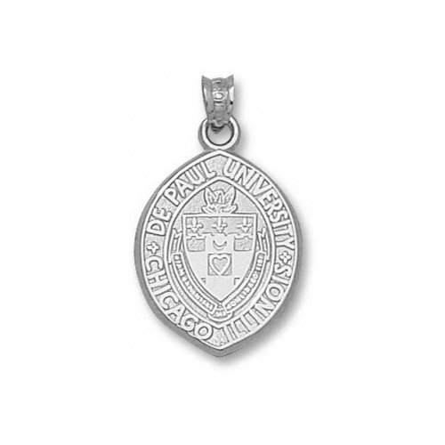"NCAA - DePaul Blue Demons 3/4"" Sterling Silver Seal Pendant"