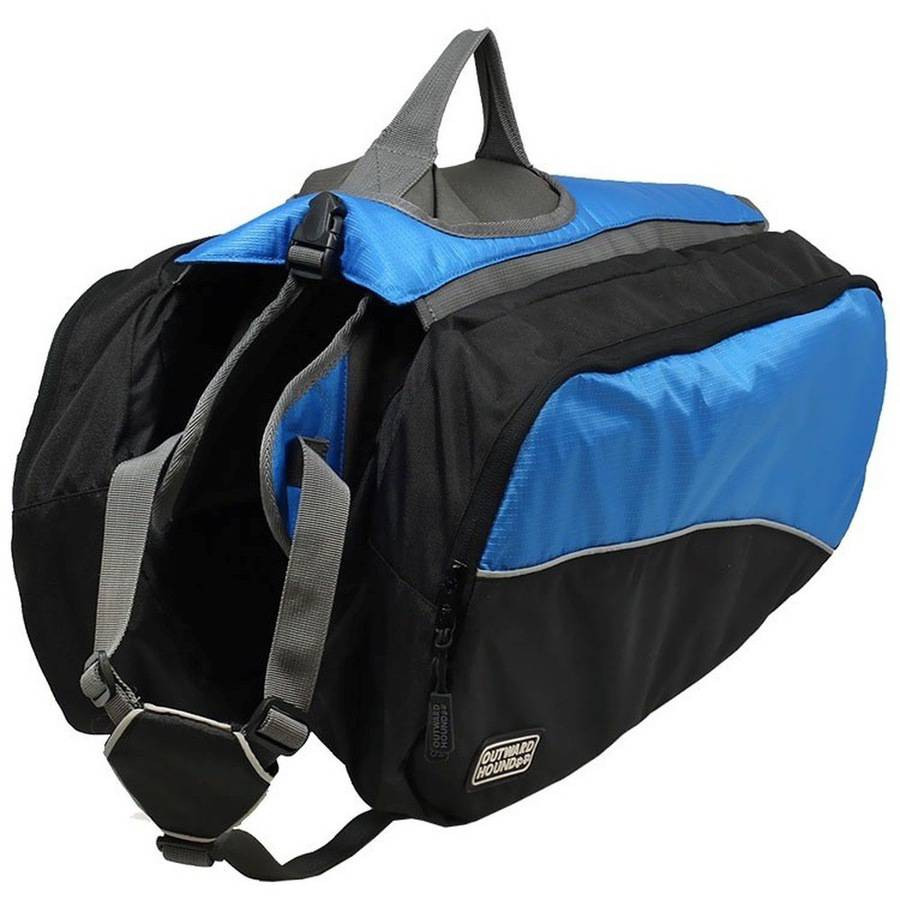 Outward Hound Quick Release Dog Backpack, Blue, X-Large