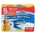 30-Count Hartz Home Protection Unscented Gel Dog Pads