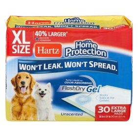Hartz Home Protection Extra Large Pads Unscented 30 In X 21 Count