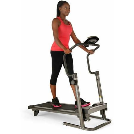 Stamina Avari Adjustable Height Treadmill with workout