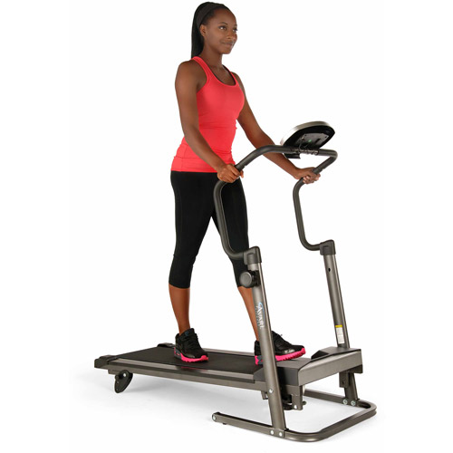 Stamina Avari Adjustable Height Treadmill with workout monitor