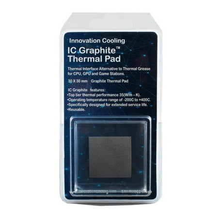 Innovation Cooling Graphite Thermal Pad – Alternative To Thermal Paste/Grease (40 X