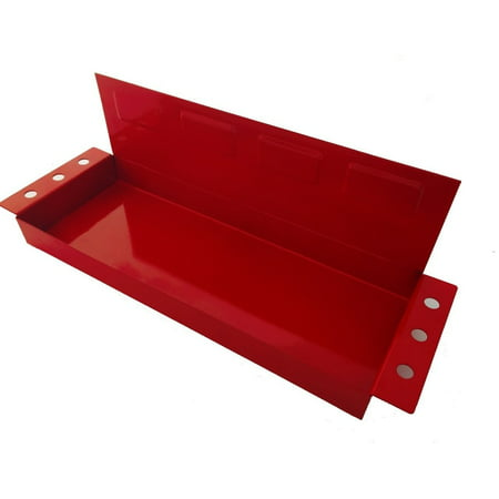 Screwdriver Holder - Magnetic Tool Storage Holding Tray Shelf with Screwdriver Holder