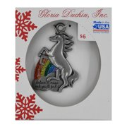 Pewter Unicorn Ornament
