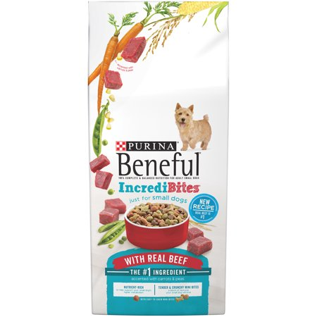 Purina Beneful IncrediBites avec bœuf Dog Food 15,5 lb Sac