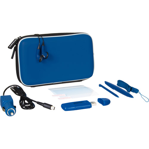dreamGEAR Nintendo DSi XL 9-in-1 Gamer Pack Blue