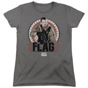 Suicide Squad Rick Flagg Bullets Womens Short Sleeve Shirt