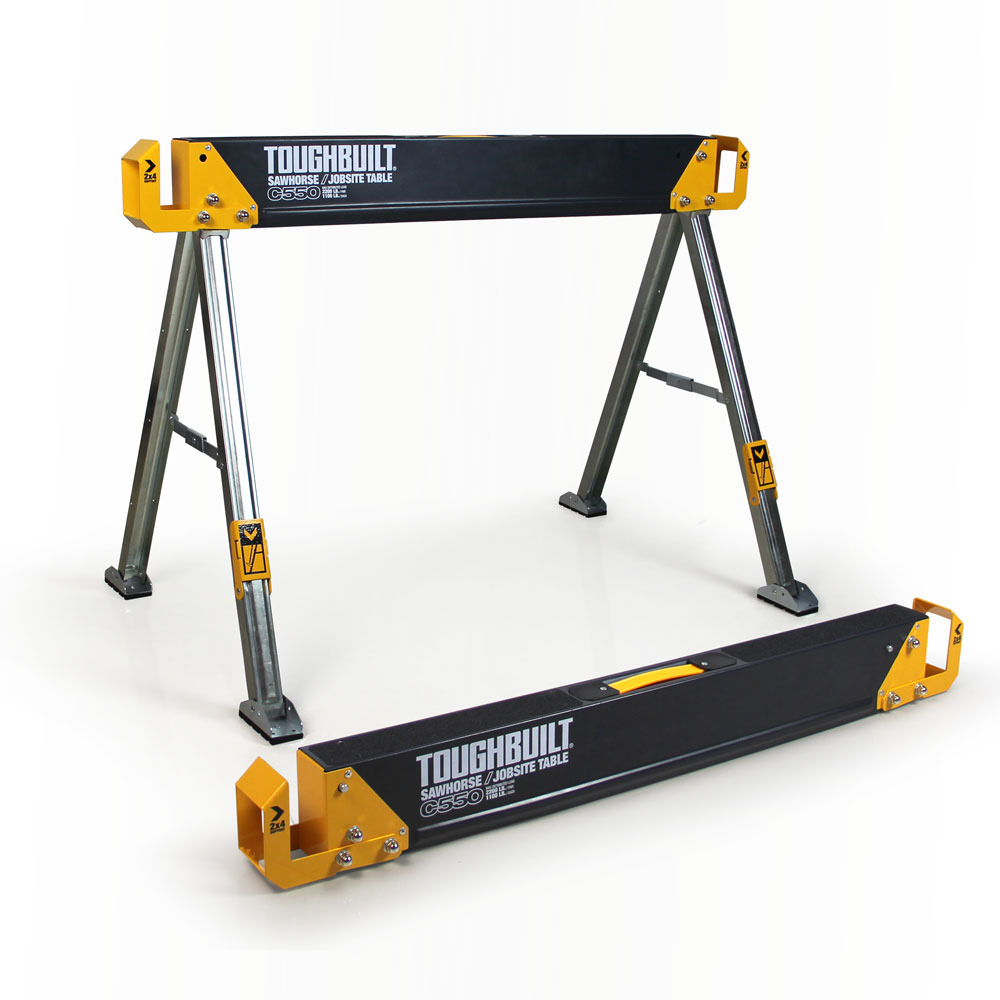 C550 Sawhorse   Jobsite Table by ToughBuilt Industries, Inc.