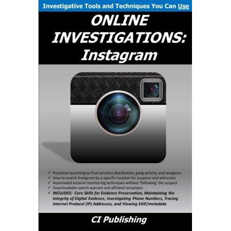 Online Investigations  Instagram
