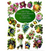 Old-Time Fruits and Flowers Vignettes in Full Color - eBook