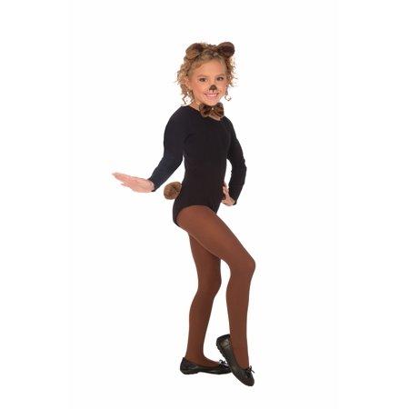 PLUSH TEDDY BEAR CHILD COSTUME KIT - Kid Bear Costume