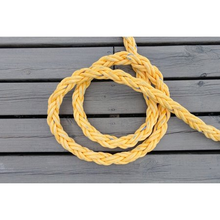 LAMINATED POSTER Open Rope Nautical Tied Boat Rigging Maritime Poster Print 24 x 36 - Nautical Tie