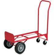 Safco, Convertible Hand Truck, 1 Each, Red
