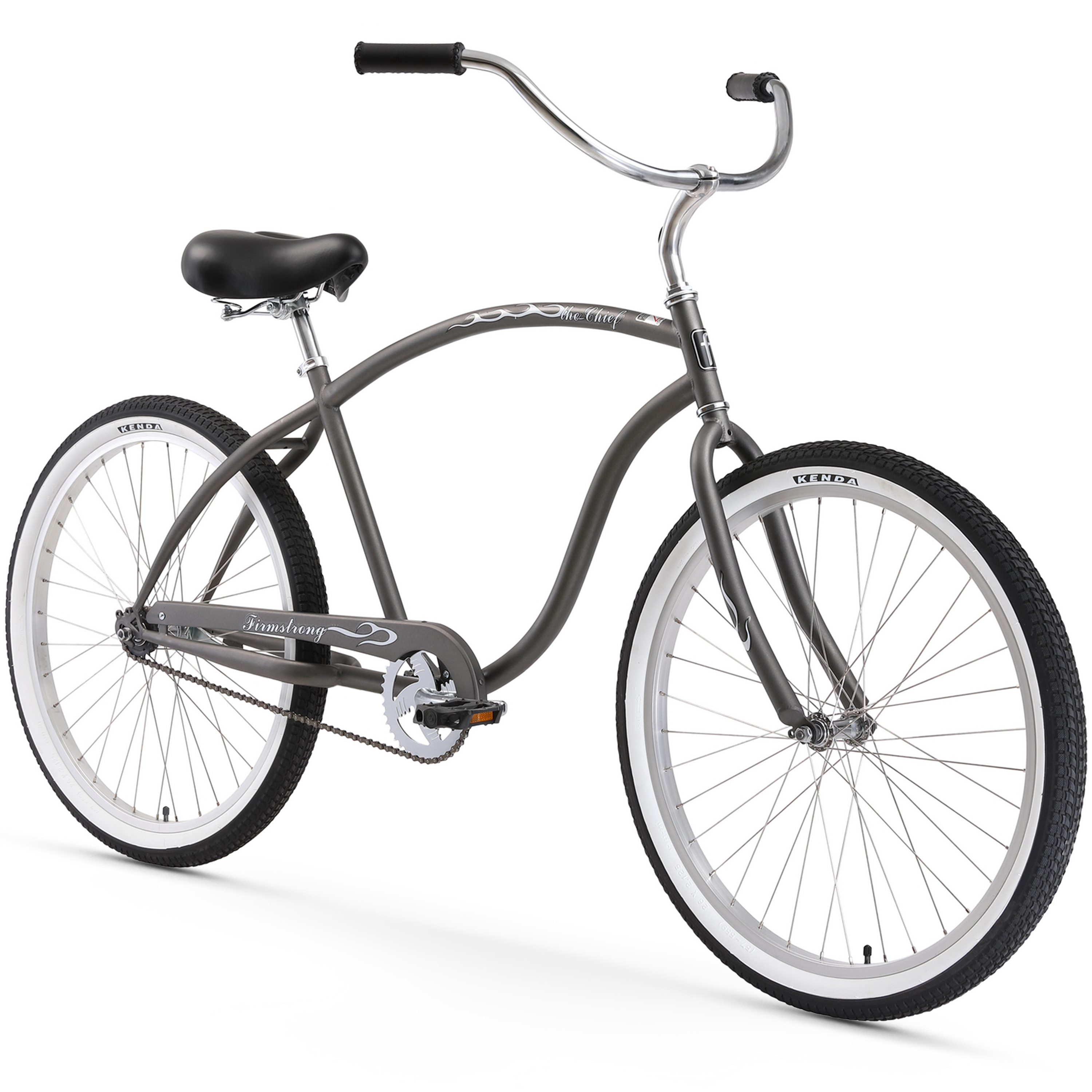 "Firmstrong 26"" Men's Beach Cruiser Bicycle, 1, 3 and 7 Speed"