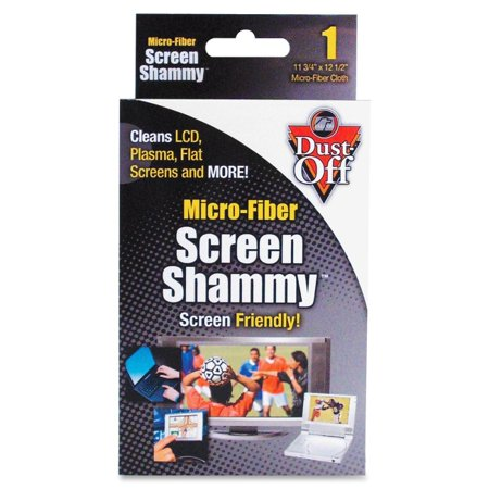 Falcon Dust-Off Screen Shammy - For Display Screen - Non-abrasive, Washable - 1 (Washable Screen)