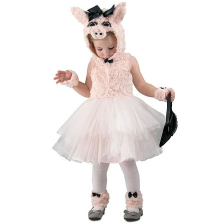 Halloween Girl's Piggy Went to Market Toddler Costume