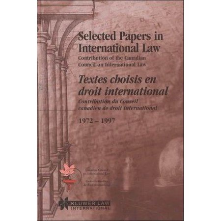 Selected Papers In International Law - image 1 de 1