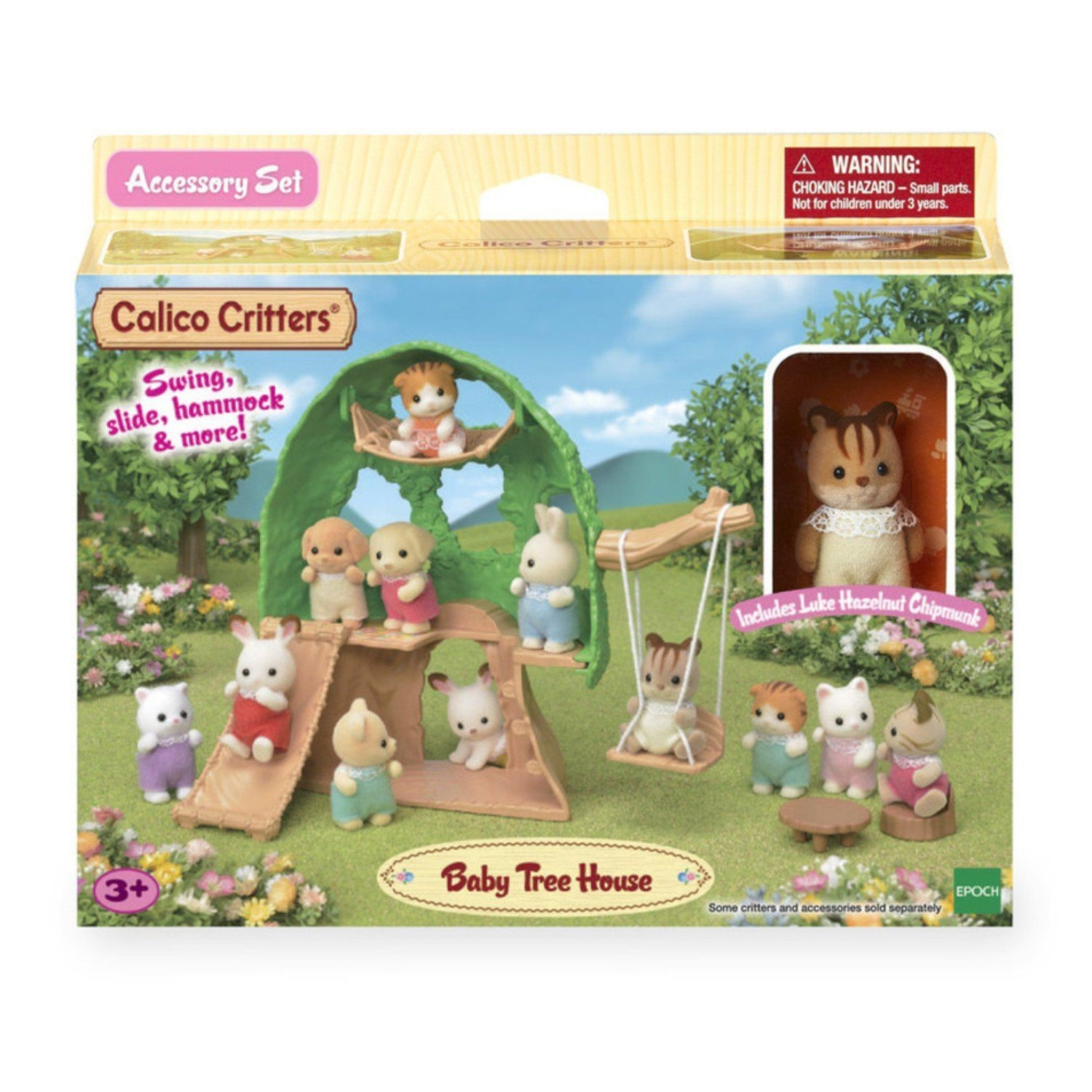 Calico Critters Baby Tree House Accessory Set - Doll House