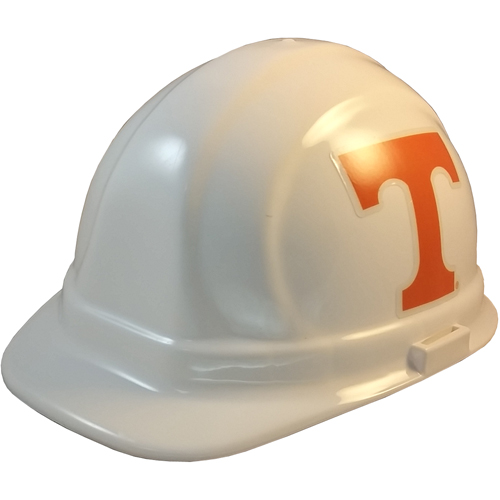 NCAA Tennessee Volunteers Hard Hats with Ratchet Suspension