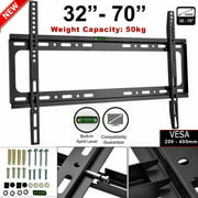 """Gomyhom Low Profile TV Wall Mount Bracket for Most 32"""" - 70"""" LCD LED Plasma HDTV, Compatible with Sony Bravia Samsung LG Haier Vizio Sharp AQUOS Westinghouse Pioneer ProScan"""