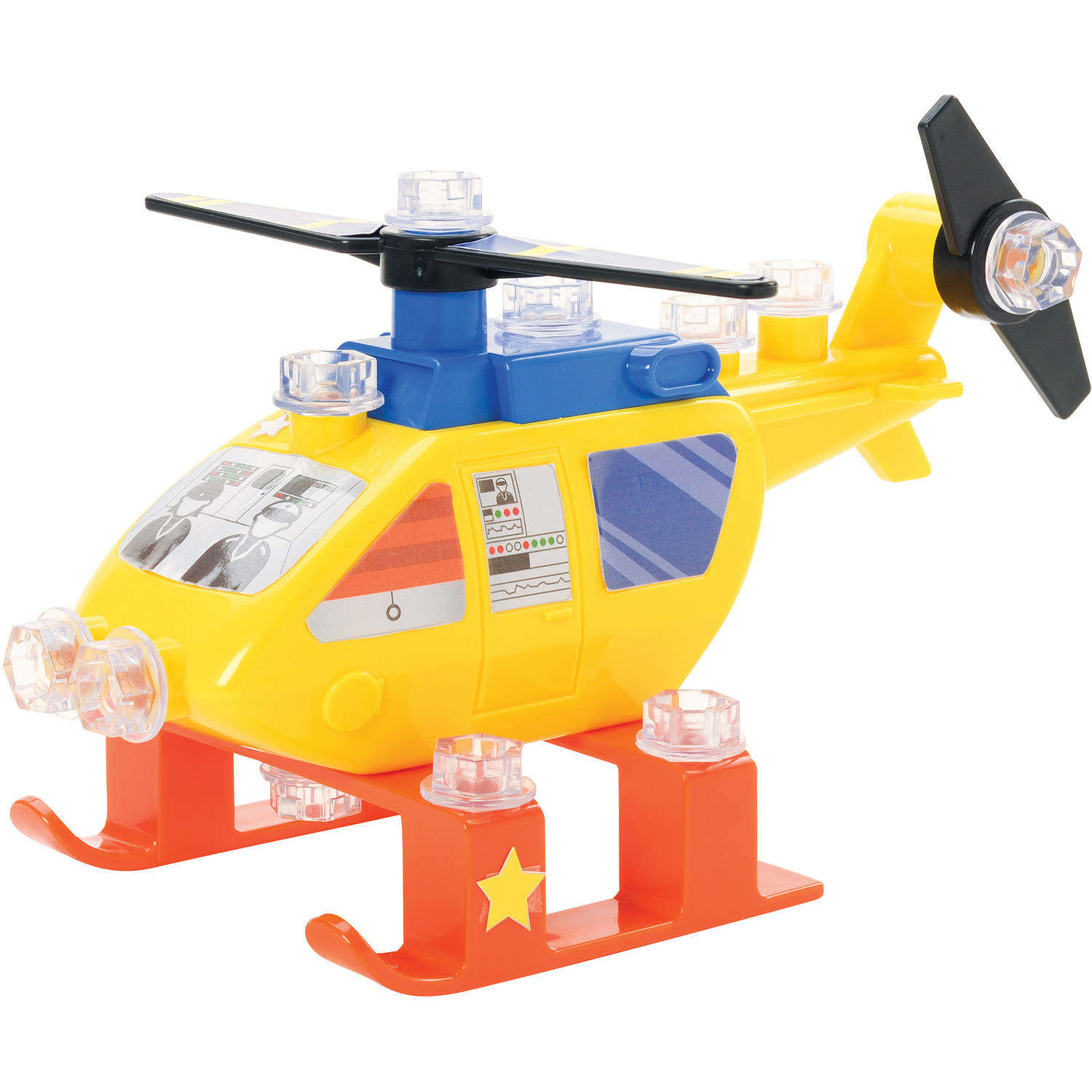 Educational Insights Design & Drill Power Play Vehicles Helicopter by Generic
