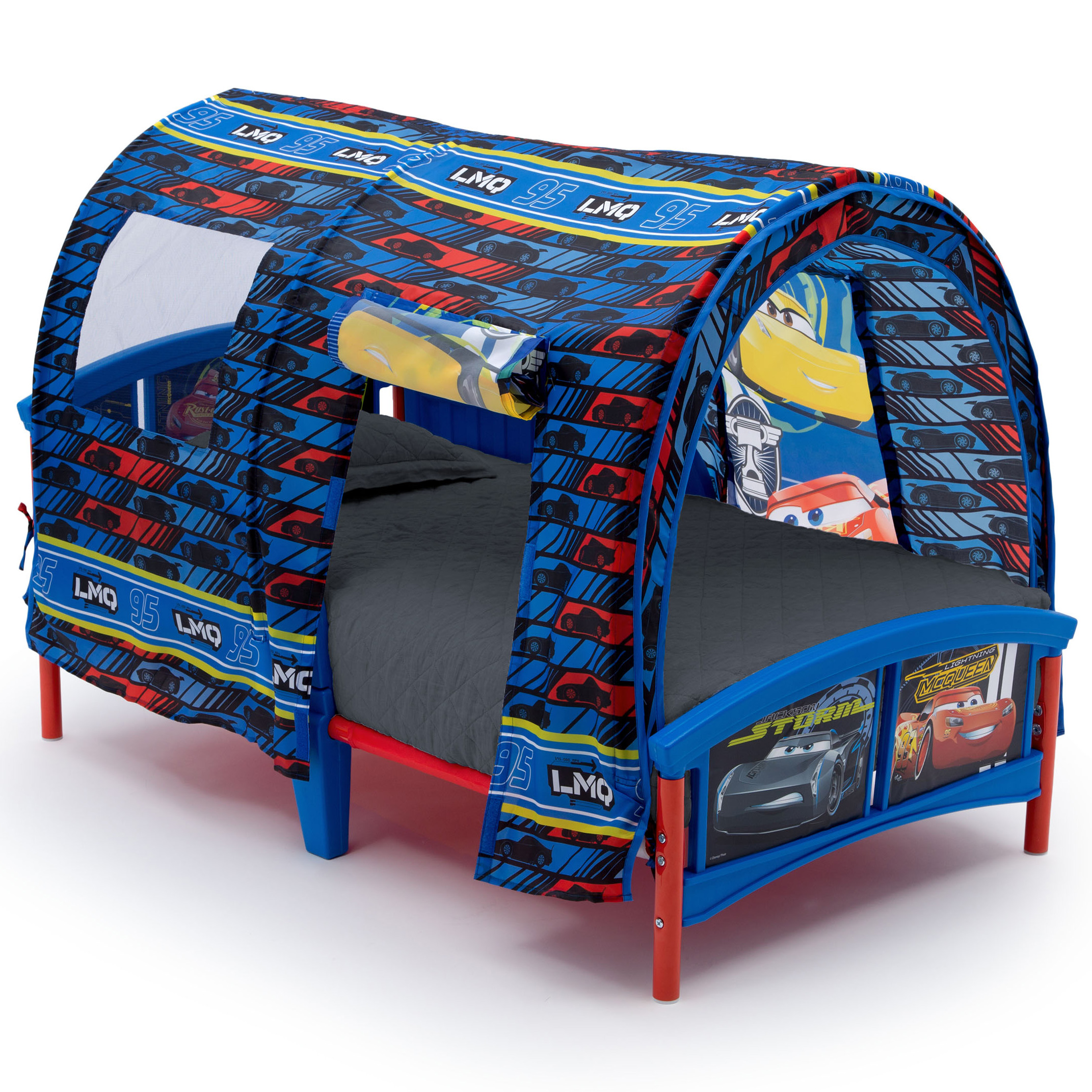 Disney Pixar Cars Plastic Toddler Bed with Tent by Delta Children by Delta Children