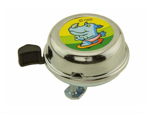 Cartoon Skateboard Rhino Bell, 60mm by YWS