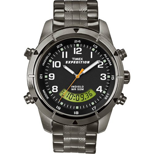 Timex Men's Expedition Watch, Stainless Steel Bracelet