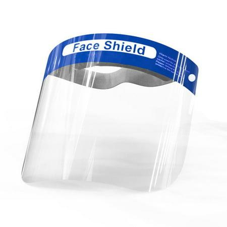 Isolation Screen Protective Mask Compression Volume Anti-Spray Face Shield - image 3 de 5