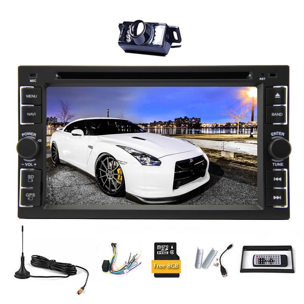 Double Din Car DVD Player Audio FM AM Monitor Radio Recei...
