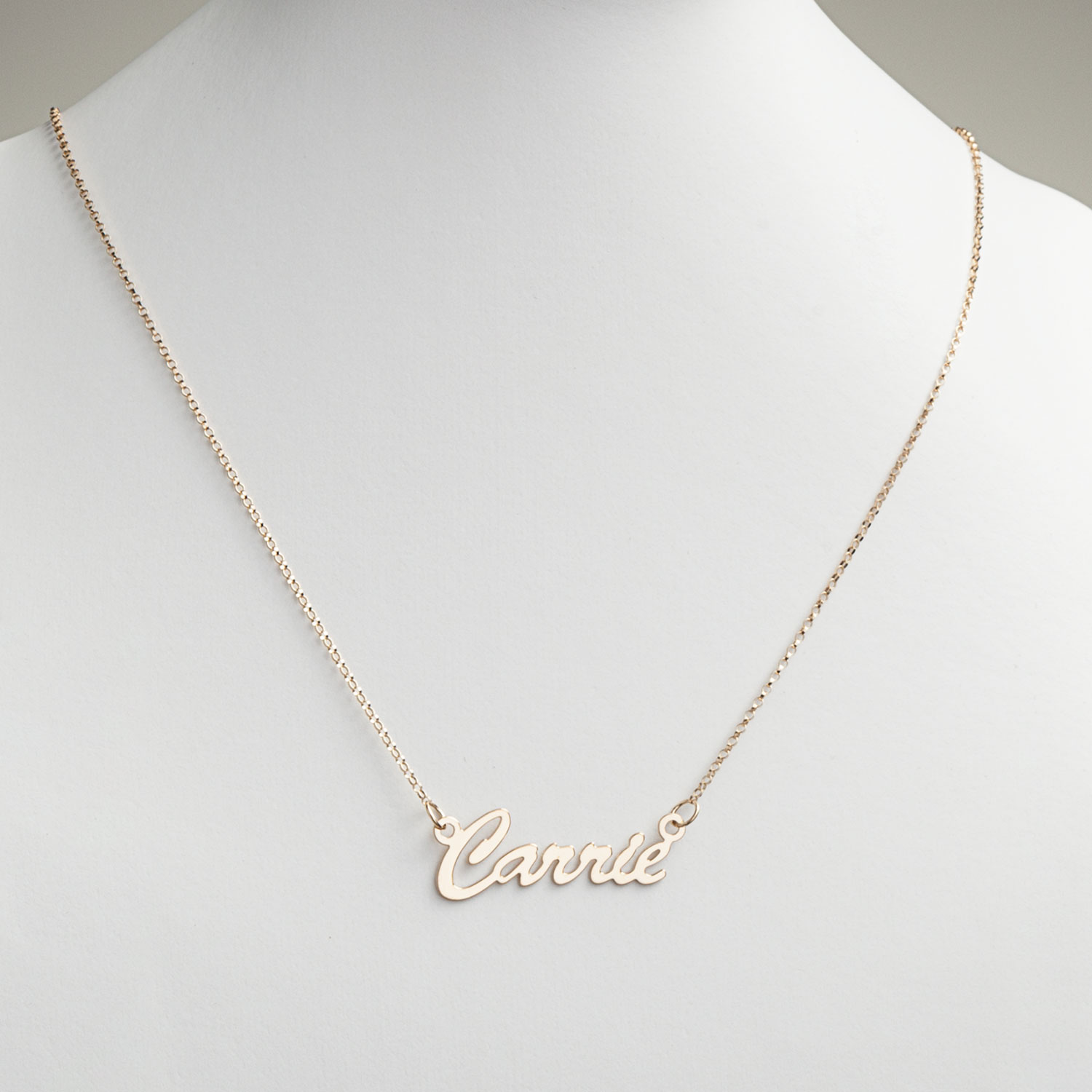 hollywood com over personalized silver name or children gold necklace sterling script ip walmart chain