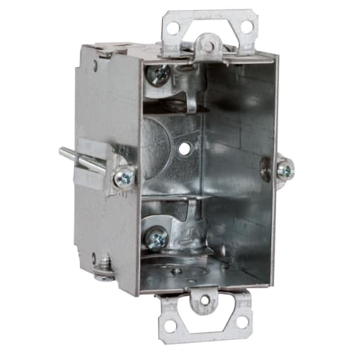 Electrical Box,Switch,3x2x2-1/2 in. RACO 523