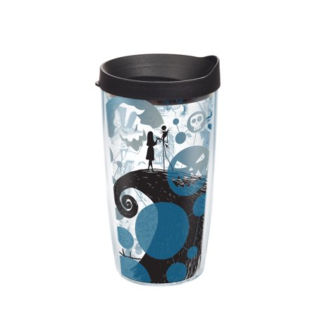 Disney Nightmare Before Christmas Story 16 oz Tumbler with lid ()