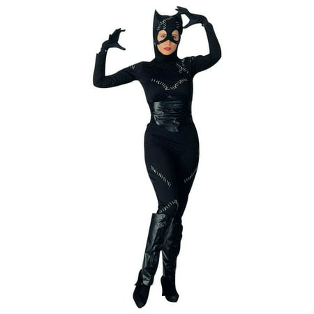 Women's Catwoman Costume - 1960 Catwoman Costume