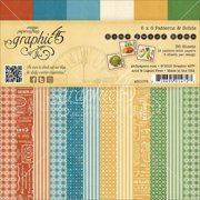 """Graphic 45 Double-sided Paper Pad 6""""x6"""""""