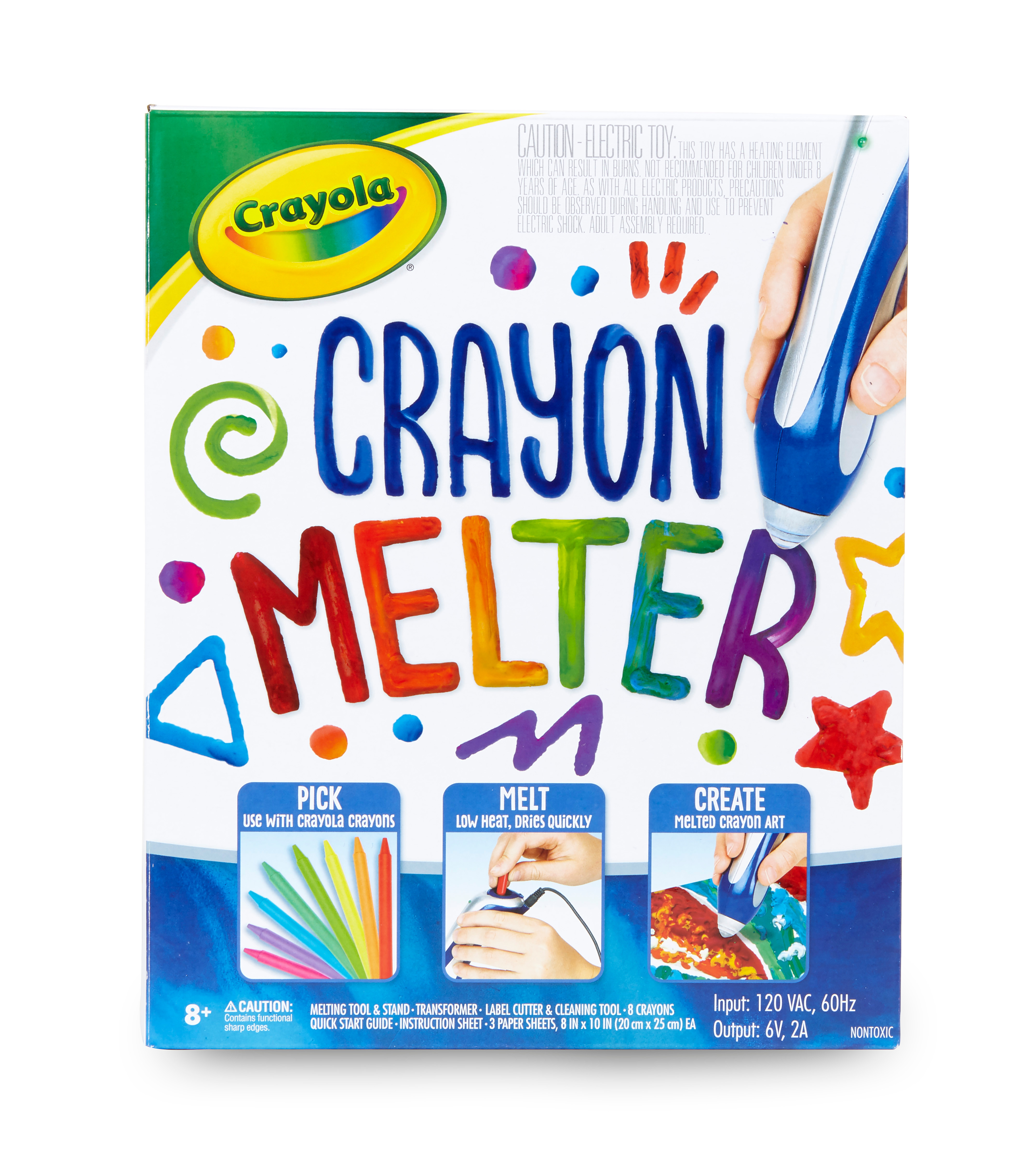 Crayola Crayon Melter Kit with Crayons, Gift for Kids, Child Ages 8-11
