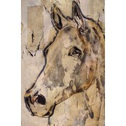 """""""Winner Horse"""" Painting Print on Wrapped Canvas by Parvez Michel Inc."""