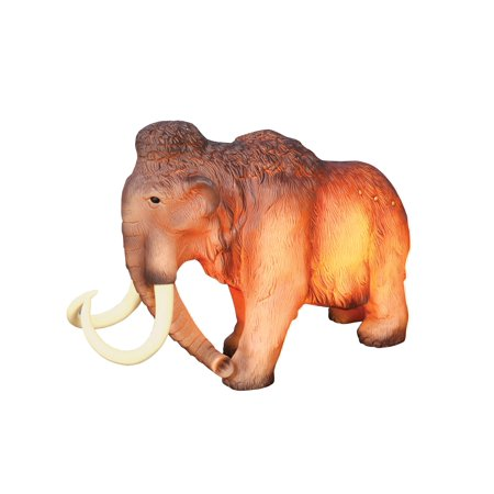 What On Earth Wooly Mammoth Table Lamp - Accent Night Light Sculpture