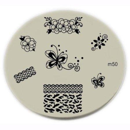 Konad Stamping Halloween (konad stamping nail art image plate m50 by)