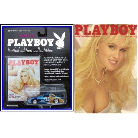 Playmate Limited Edition Die Cast Collectible Car  Jenny Mccarthy By Playboy