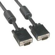Eagle Electronics 180461 100Ft Super Shield SVGA Male to Male Cable with Ferrite Core