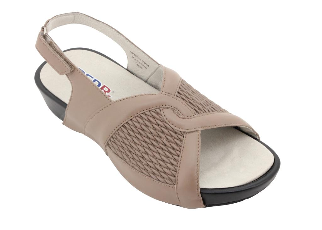 Propet Madeline - Women's Removable Insole Sandals - Women's - - Taupe 81eb05