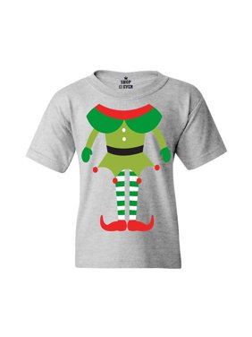 987ac6075 Product Image Shop4Ever Youth Elf Body Costume Funny Christmas Merry Xmas  Graphic Youth T-Shirt