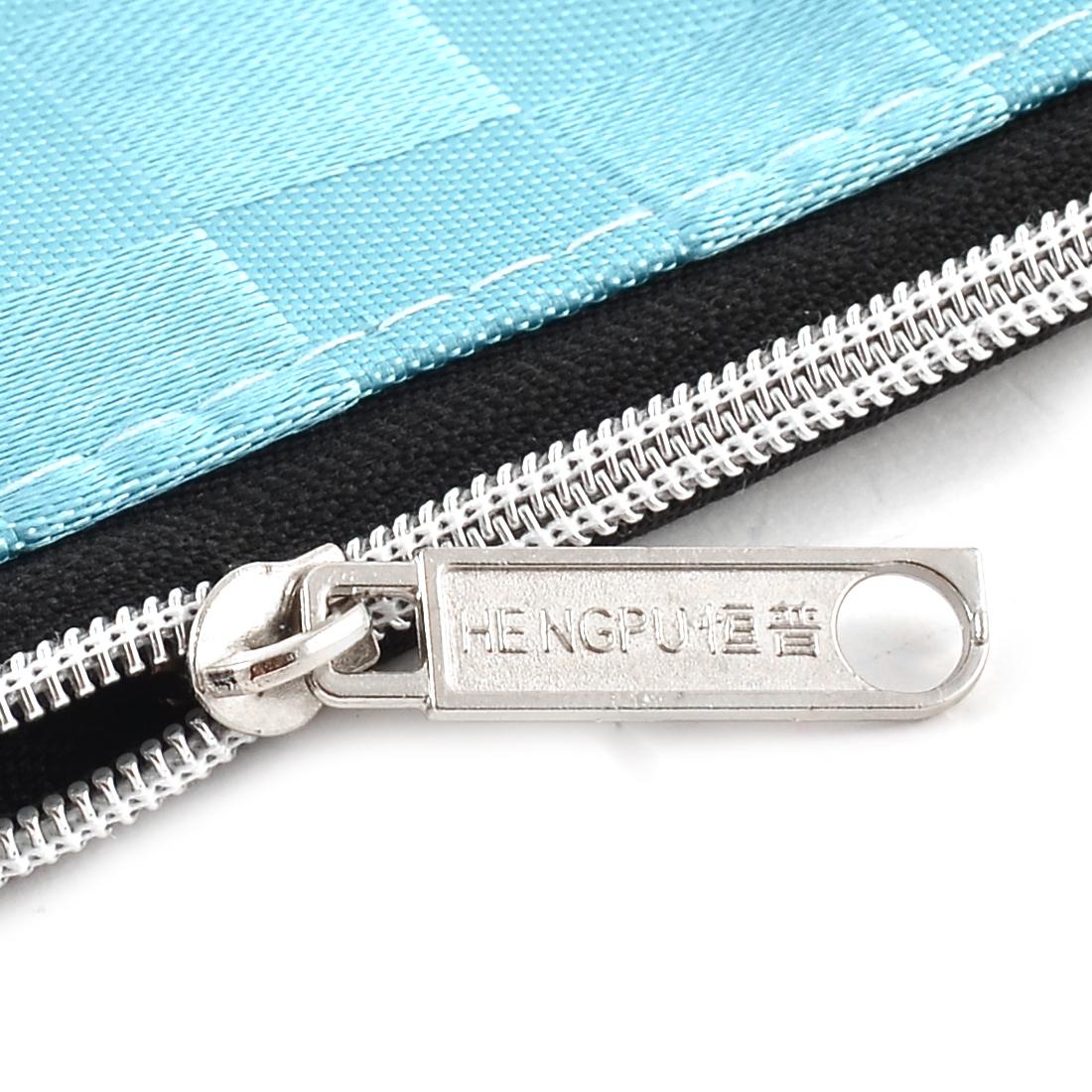 and Office Zipper Closure Waterproof Document File Bag Wallet Folder - image 2 de 3