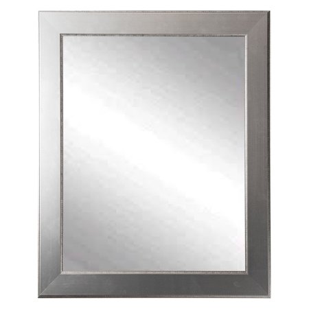 (BrandtWorks Traditional Silver Entry Way Wall Mirror)