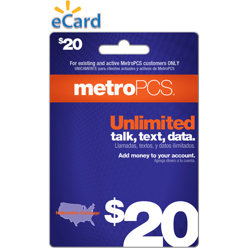 (Email Delivery) MetroPCS Monthly Unlimited $20